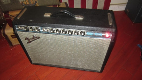1971 Fender® Deluxe Reverb® Silverface, Excellent, $1,695.00