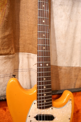 1971 Fender Mustang Competition Orange
