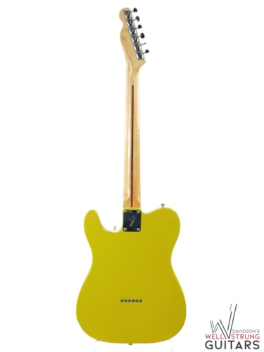 1971 Fender Telecaster Thinline Canary Yellow