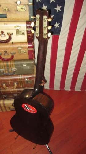 1971 Yamaha FG-75 Small Bodied Acoustic Natural, Excellent, $399.00