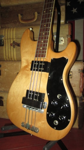 ~1972 Carvin SB-60 Electric Solidbody Bass Natural
