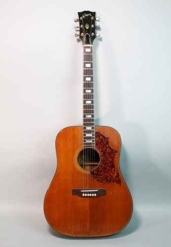 1972 Gibson SJ Deluxe Vintage Natural Finish Acoustic Flattop Guitar