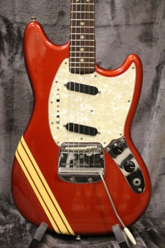 1973 Fender Competition Mustang Red