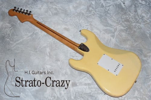 1973 Fender® Stratocaster® Olympic White, Excellent, Original Hard, Call For Price!