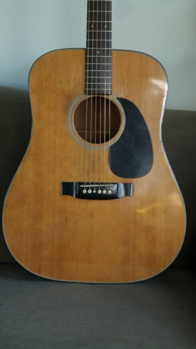 1973 Takamine D-18 lawsuit copy G330 Natural, Very Good