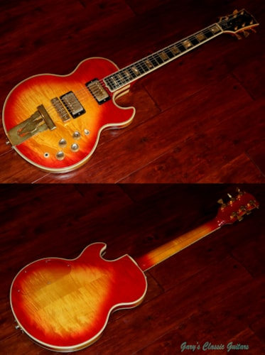 1974 Gibson L5-S   (#GIE0891) Cherry Sunburst, Excellent, Original Hard, $5,995.00