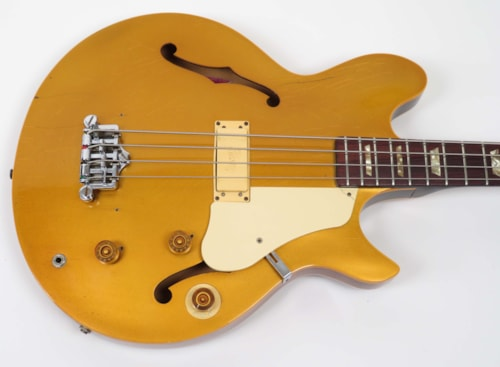 1974 Gibson Les Paul Signature Bass Goldtop