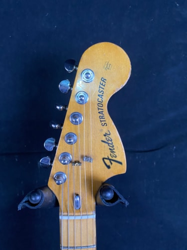 1975 Fender Stratocaster Hardtail Orange