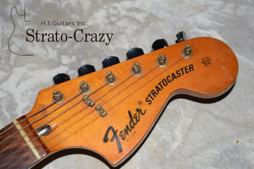 1975 Fender Stratocaster Olympic White Rose neck Ritchie Blacmore's Mod