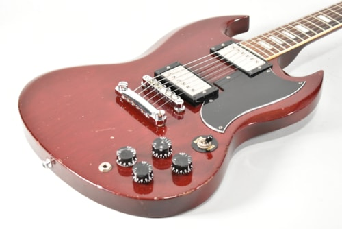 1975 Gibson SG Cherry Red