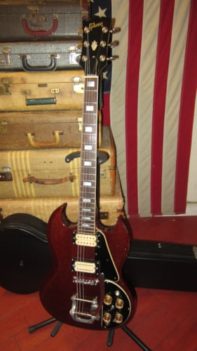 ~1976 Gibson SG Standard Deluxe Cherry Red