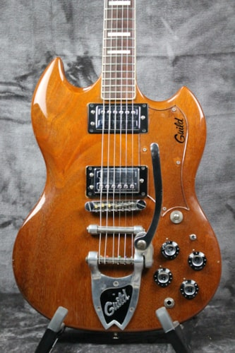 1976 Guild S-100 Deluxe Natural