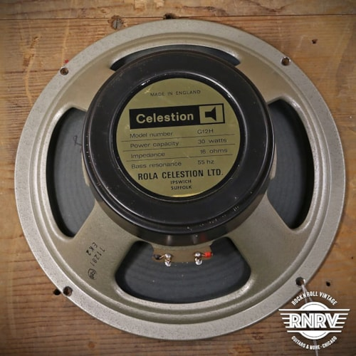 1977 Celestion 30w 12in Speaker - 1