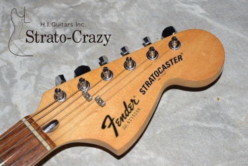 1977 Fender Stratocaster Olympic White/Rose neck