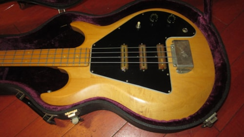1977 Gibson G-3 Grabber Bass Natural