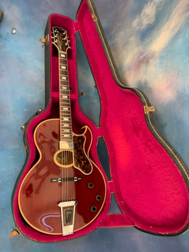 1977 Gibson Howard Roberts Custom Wine Red
