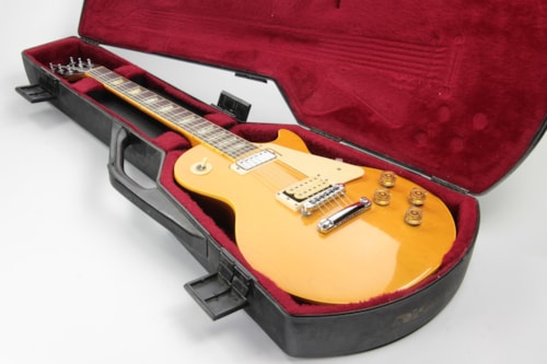 1977 Gibson Les Paul Deluxe Natural w/ Original Protector Chainsaw Case - Tom Scholz Vibe