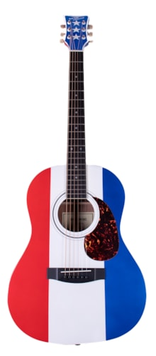 1978 Buck Owens H117 Red, White, and Blue