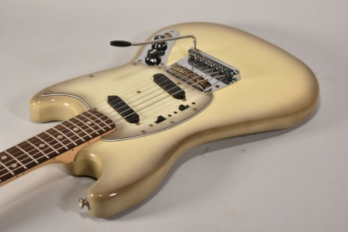 1978 Fender Mustang Antigua Finish Electric Guitar w/OHSC