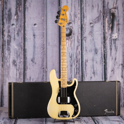 Vintage 1978 Fender Precision Bass, White