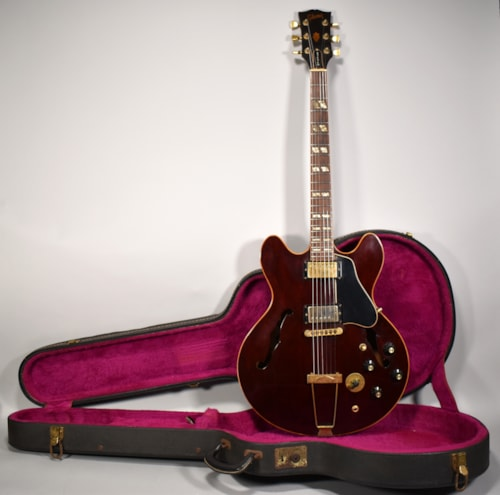 1978 Gibson ES-345 Wine Red Finish Original Vintage Electric Guitar w/OHSC