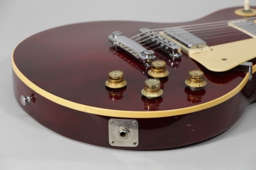 1978 Gibson Les Paul Deluxe Wine Red Finish Electric Guitar w/OHSC
