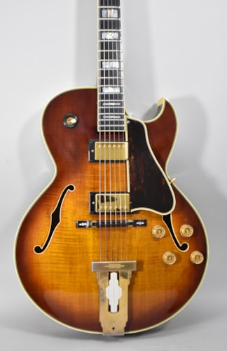 1978 Ibanez Model 2635 Sunburst Finish Vintage Archtop Electric Guitar w/OHSC