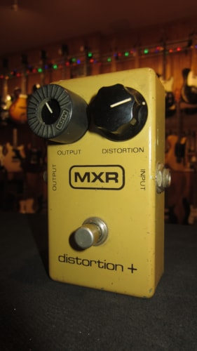 ~1978 MXR Distortion + Yellow