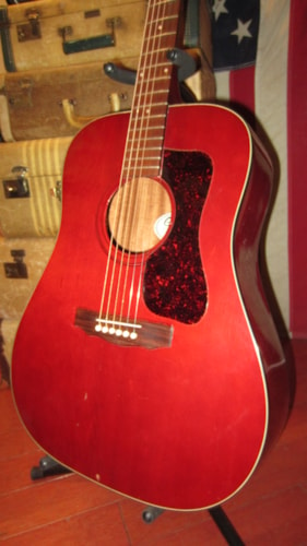1979 Guild D-25 Cherry Mahogany Plays and Sounds Great!