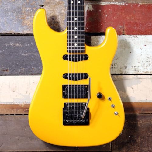 1980's Charvel San Dimas Yellow Pearl Made In The USA