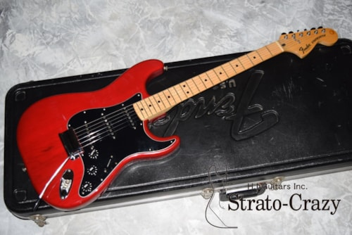 1980 Fender Stratocaster Wine Red/Maple neck