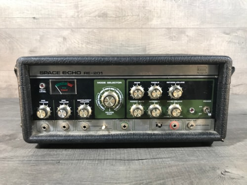 1980 Roland RE-201 Space Echo Tape DelayReverb  Guitars Electric Solid  Body  SS Vintage