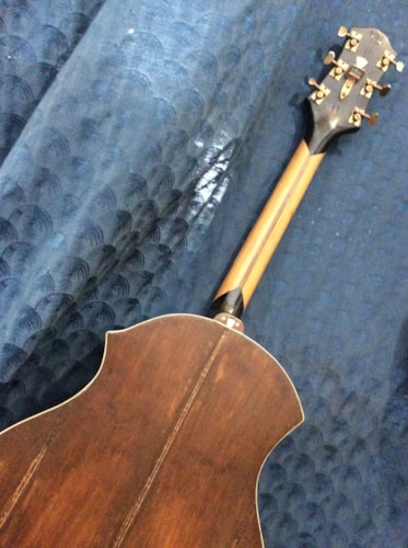 1980s Maurice Maye's  Sliver Sparkle acoustic guitar