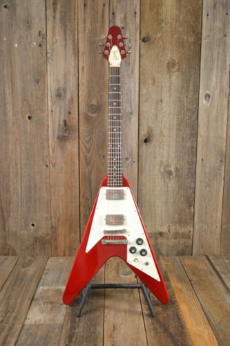 1982 Gibson Flying V Candy Apple Red