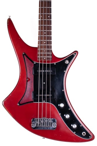 1982 Guild X-702 Candy Apple Red