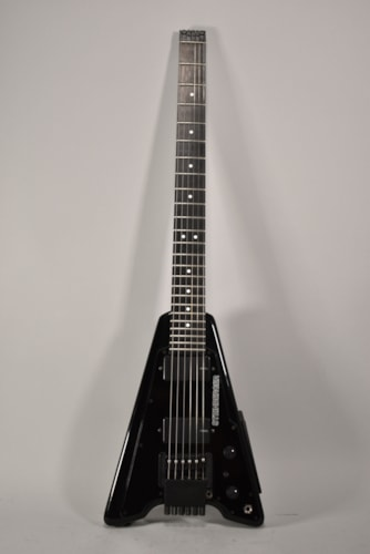 1982 Steinberger Solidbody Electric Guitar Black Finish
