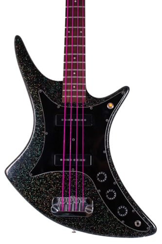 1983 Guild X-702 Black Sparkle