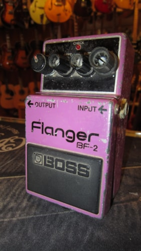 ~1984 BOSS BF-2 Flanger Made in Japan Purple