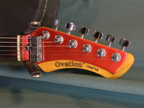 ~1984 Ovation Ultra GS Candy Apple Red