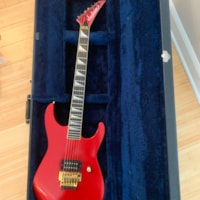 1985 Jackson CS Soloist Special Ordered by Bruce Kulick