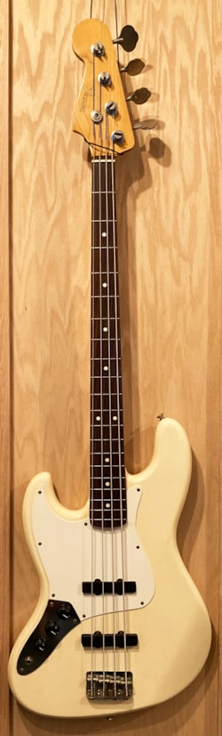 1987 Fender Jazz Bass Left-Handed Version