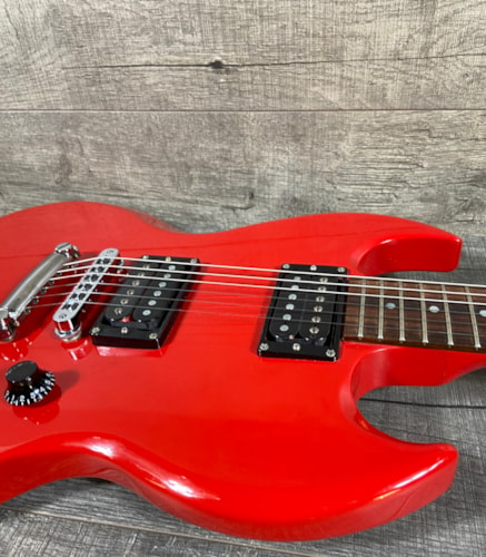 1987 Gibson SG Special Red