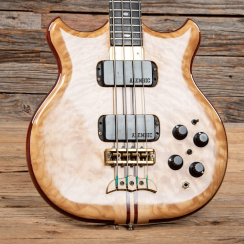 Alembic Stanley Clarke Deluxe Short Scale Natural 1988
