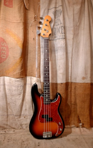 1990 Fender Precision Bass (1962 reissue) Sunburst