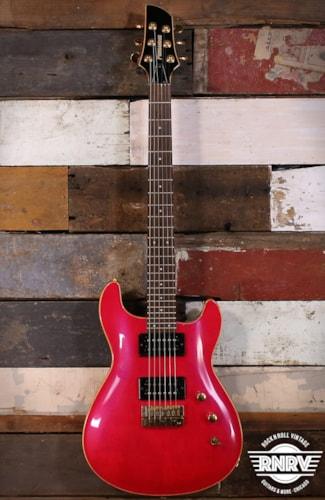 1990's Fernandes E-125 - See Through Purple Red