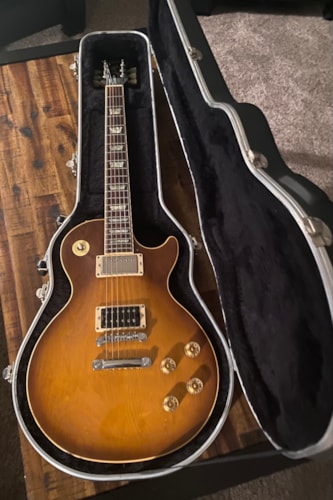 1990 Gibson Les Paul Standard Owned and Used by Bruce Kulick  Honeyburst