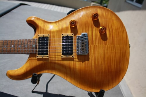 1992 Paul Reed Smith Custom 24 Vintage Yellow, Excellent, Original Hard