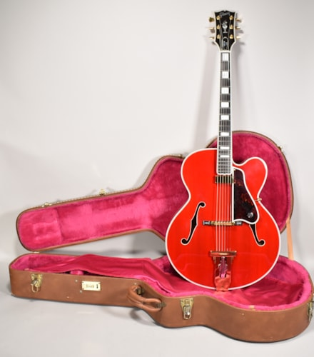 1993 Gibson L-5CT George Gobel Masterbuilt Hutchins Cherry Archtop Guitar OHSC