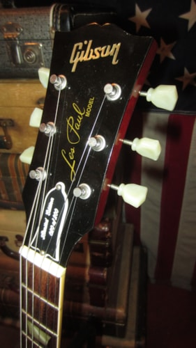 1993 Gibson Les Paul Limited Edition Mahogany Top #20/200 Red, Excellent, Original Hard, $2,695.00