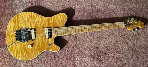 1995 Ernie Ball Music Man EVH Gold Translucent